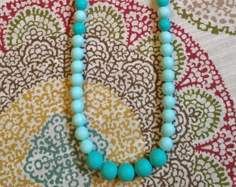 The Cleo Teething Necklace