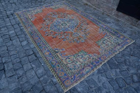 Teppich blauen Teppich Roter Teppich Wohnzimmer Teppich | Etsy
