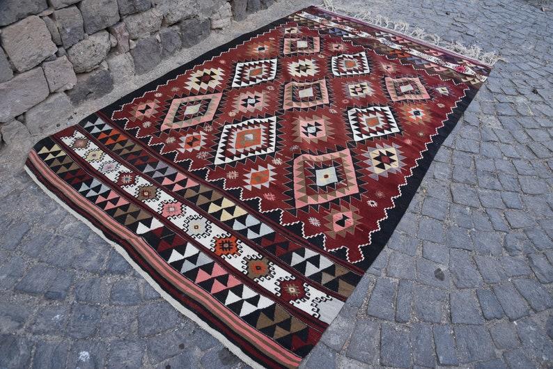 6 9 Handgemachte KilimEthnische Teppich Türkische Kelim5 X ...