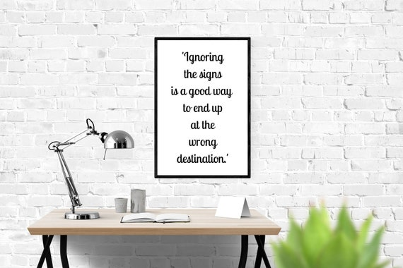 10 x Inspirational Quotes About Seeing Signs, Printable Quotes, 40 Prints,  Printable Art Bundle, Instant Download, Wedding Favours, Unique