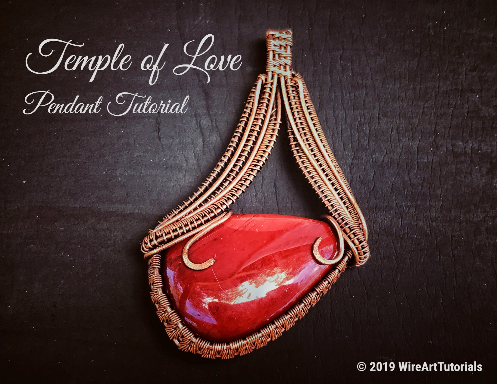 Tutorial Temple Of Love Wire Wrap Pendant Pattern Pattern Weave Jewelry Cabochon Wrapping Weaving Wrapped Woven Elegant Jewelry Design