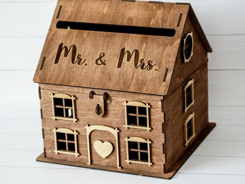 Kartenbox Haus Hochzeit