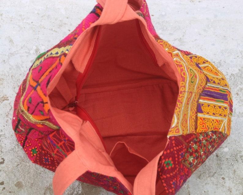 EXPRESS SHIPPING-Indian Vintage Banjara Purse  Hippie Handwork Embroidered Tote Bag Woman/'s Shoulder Handbag