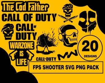 Call Of Duty Svg Etsy