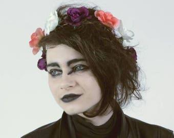 Fairy Queen - Rose Flower Crown