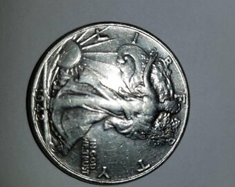 4th of july sale 1942 walking liberty half dollar almost uncirculated 90% silver
