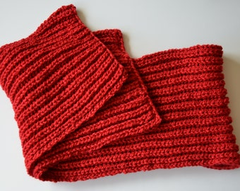 Scarf, shawl, wrap, red, wool, winter, warm, snow, cold, Christmas