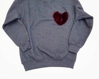 Warm Heart Sweatshirt