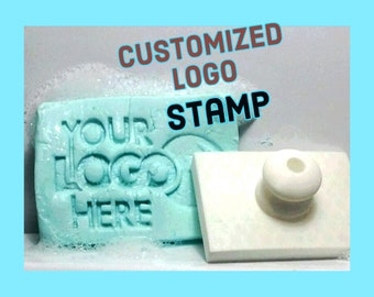 Custom Logo Stamp Image Or Text Personalized Can Be Used For Soap Cookie Fondant Pottery Clay