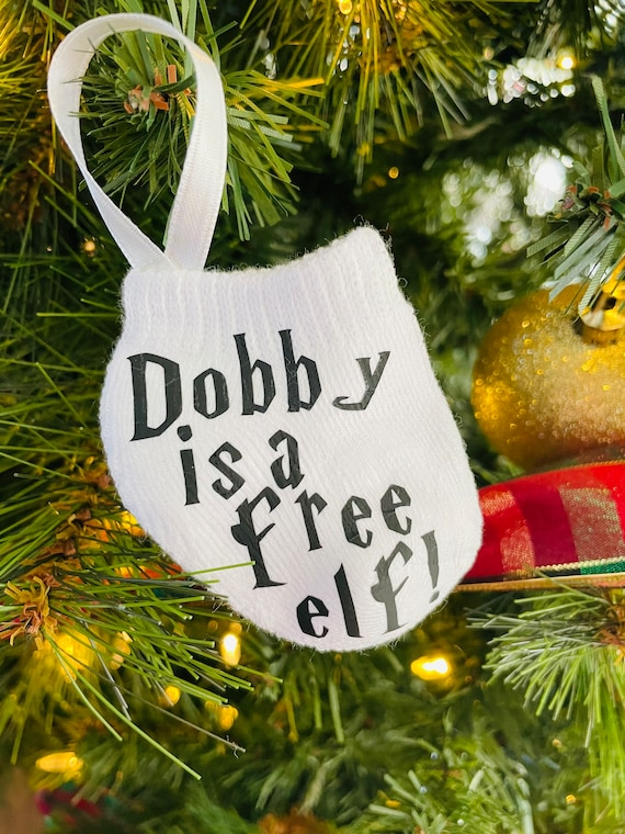Dobby is Free Sock Ornament
