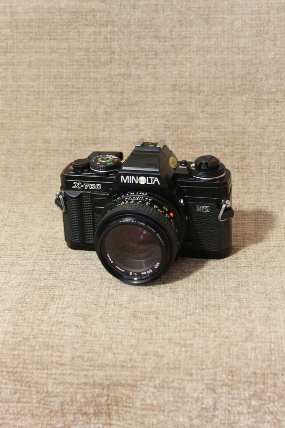 Minolta X 700 Film Camera & 50mm F/2 Film Tested by Etsy