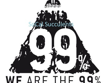 We Are The 99% PNG - Stock Market - Wall Street - Digital File