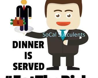 Eat the Rich PNG Digital File - Clip Art - Stock Market Reddit - Download