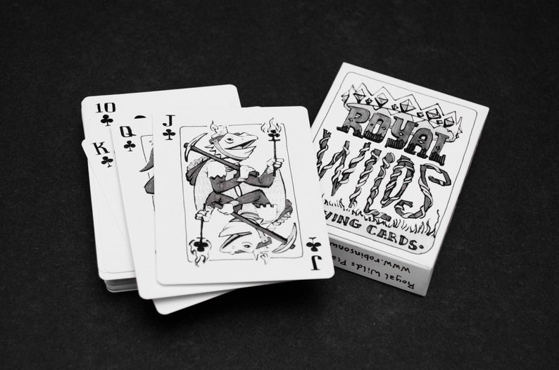 Royal Wilds Illustrated Playing Cards  Poker Cards  Deck of image 0