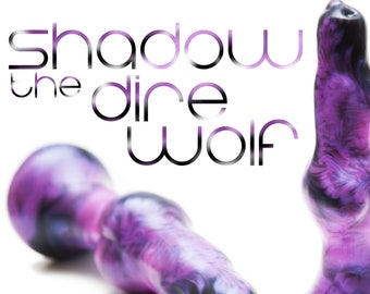 Shadow the Dire Wolf - Sex Toys - Adult Toys - Canine Dildo - Fantasy Toy - Dildos