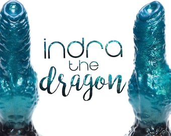 Indra the Dragon - Dragon Dildo - Fantasy Dildo - Adult Toy - Sex Toy - Silicone Dildo