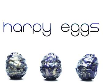 Harpy Eggs (Set of 3) - Kegel Eggs - Silicone Eggs - Squishy Eggs - Ovipositor - Vaginal Eggs