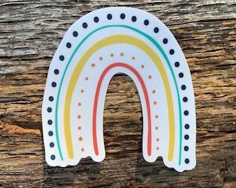 Rainbow sticker, vinyl stickers, laptop sticker, best friend gift