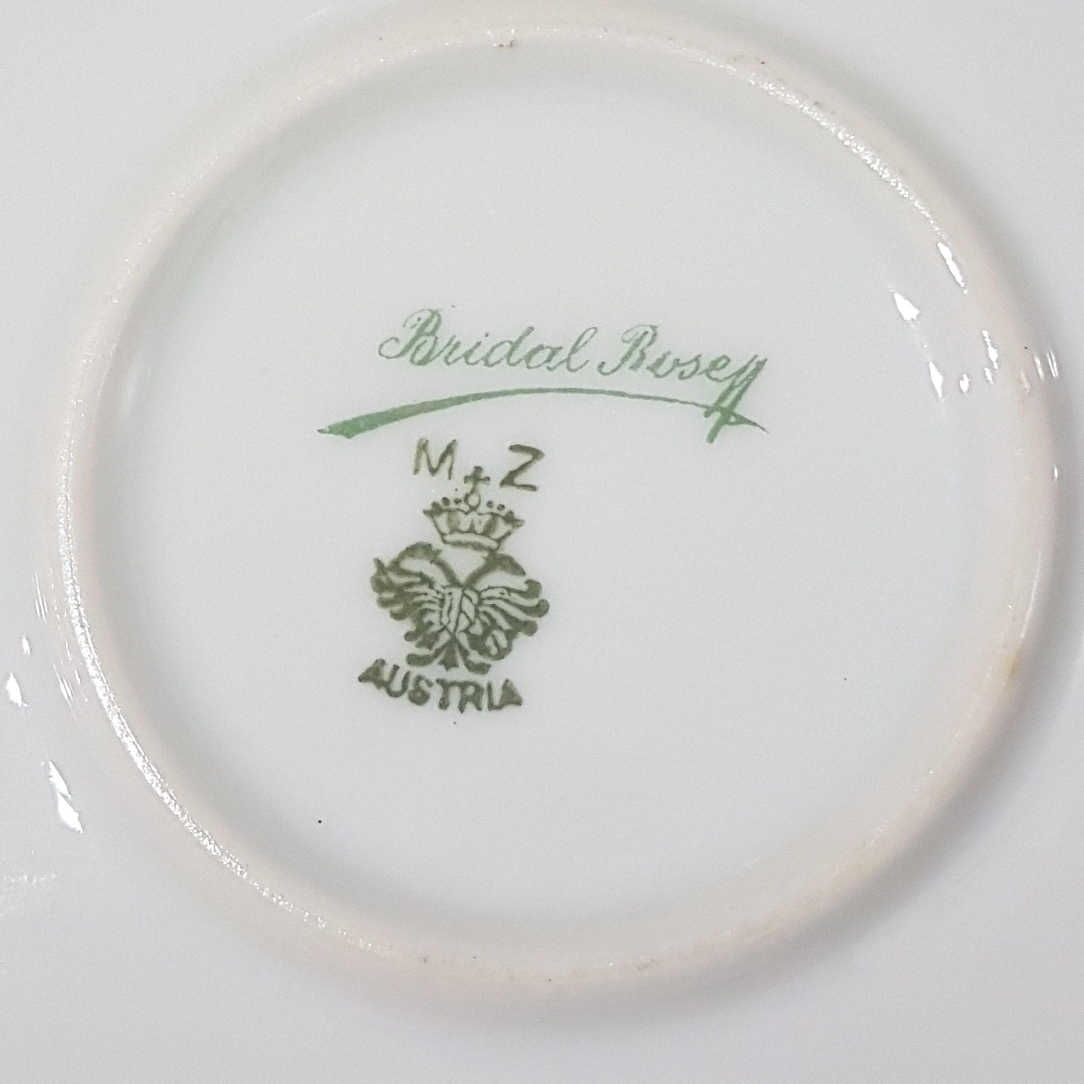 RESERVED for Matt - ANTIQUE MZ Austria Bridal Rose Cake