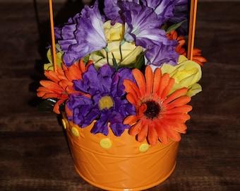 Easter Basket Centerpieces