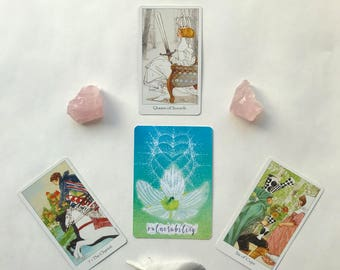 Four Card Tarot & Oracle Reading - SPECIAL INTRO PRICING