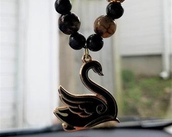 Black Swan Car Charm
