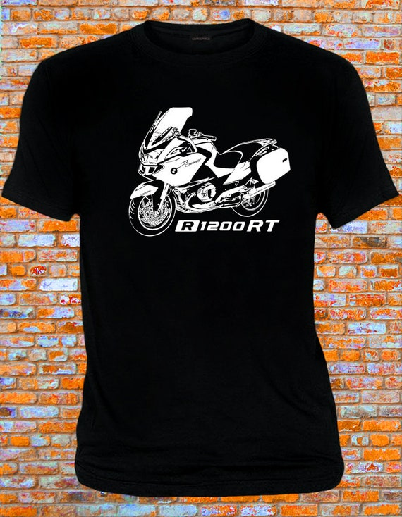 T-shirt  for bike BMW R1200RT Tshirt R 1200 RT motorcycle R1200 RT moto R 1200RT