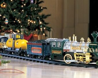 Christmas Train Etsy