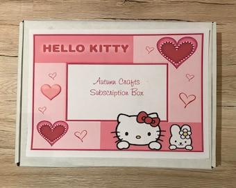 Hello Kitty Stationery Box