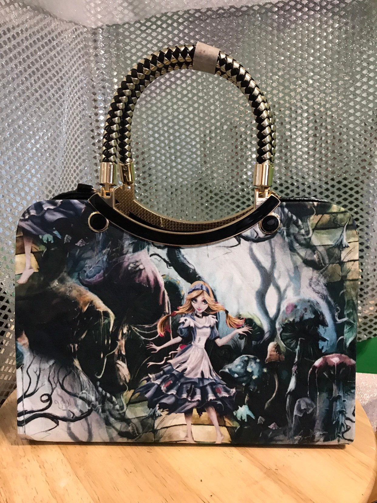 4d3538229a6 Alice In Wonderland Handbag