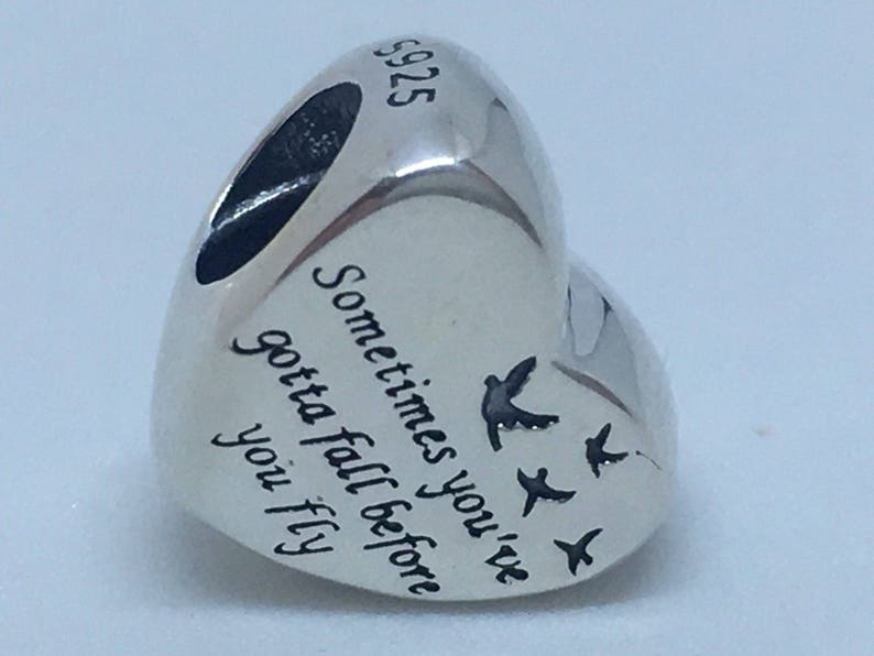 1c447004b Authentic New Pandora charm heart of freedom 791967 | Etsy
