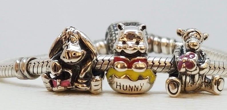 15580381d Set of 3 New Authentic Disney Pandora Charms Winnie the | Etsy