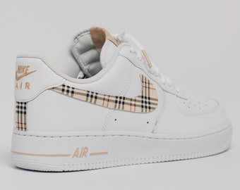 best sneakers 781dd a43c1 Nike Air Force 1 Custom Made Plaid Edition 1 All sizes Available