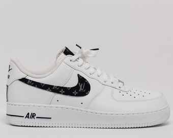 2109e43112b Nike Air Force 1 Custom Made LV Silk Premium Designer Edition (all sizes  available)