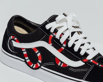 bc2806ce5d9c Vans Original Gucci Snake Custom Made Premium Designer Edition (all sizes  available)