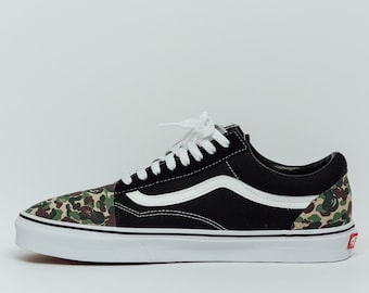 9d5381b545 Vans Original Bape Camo Custom Made Premium Designer Edition (all sizes  available)