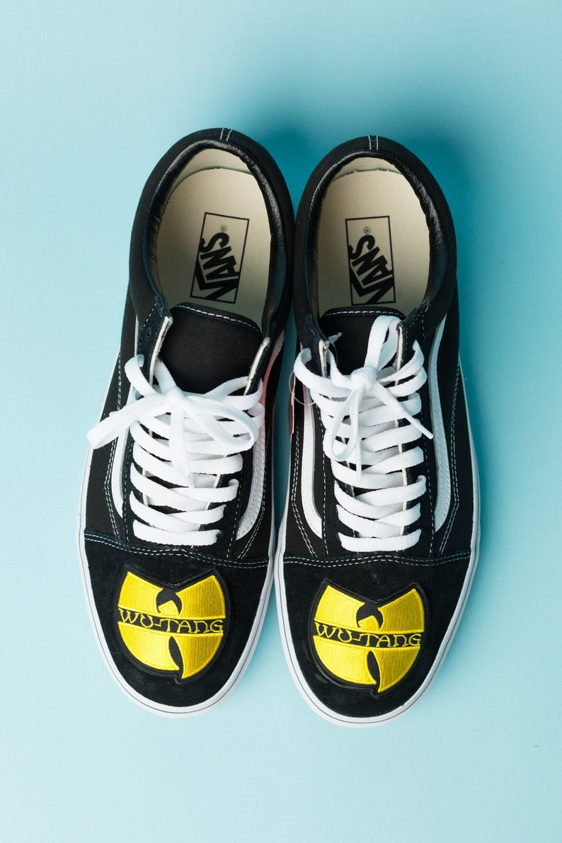 b588c1bffef265 Vans Low Top Wu-Tang Clan  Custom Designed Avail.