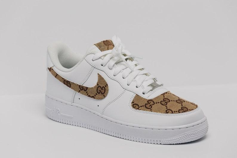 218a2fd93b0ff5 Nike Air Force 1 Gucci OG Custom Made Premium Designer Edition