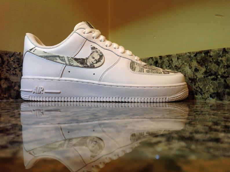 9156a81b9e7 Nike Air Force 1 Cash Money  Custom Designed and