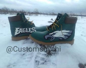 28d5ec4e8ad Custom Philadelphia Eagles Timberlands