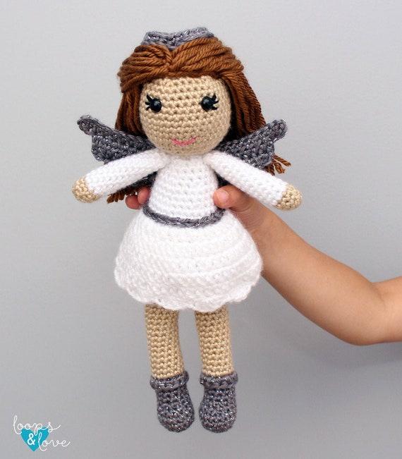 Angelito Ángel Amigurumi Tejido A Crochet Llavero - $ 65.00 en Mercado Libre   651x570