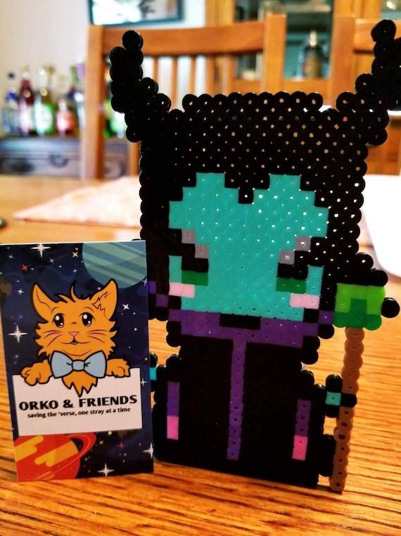 Maléfique Pixel Art Aimant Disney Vilain Pixel Art Aimant Sleeping Beauty Pixel Art Aimant Malpm