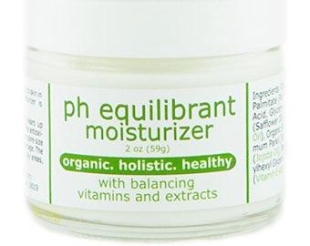 pH Balanced Moisturizer w/ Organic Ingredients & Vitamins A, B5, E
