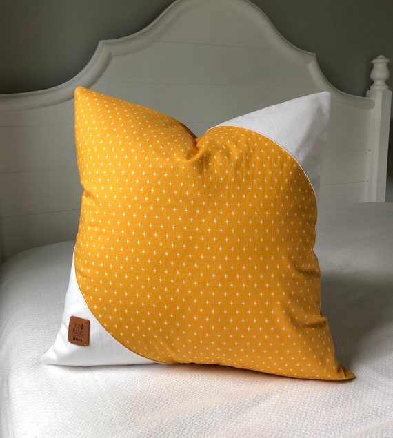 40x40 Mustard Yellow Pillow Covers 40x40 Pillow Cover Yellow Etsy Stunning Etsy Pillow Covers 20x20