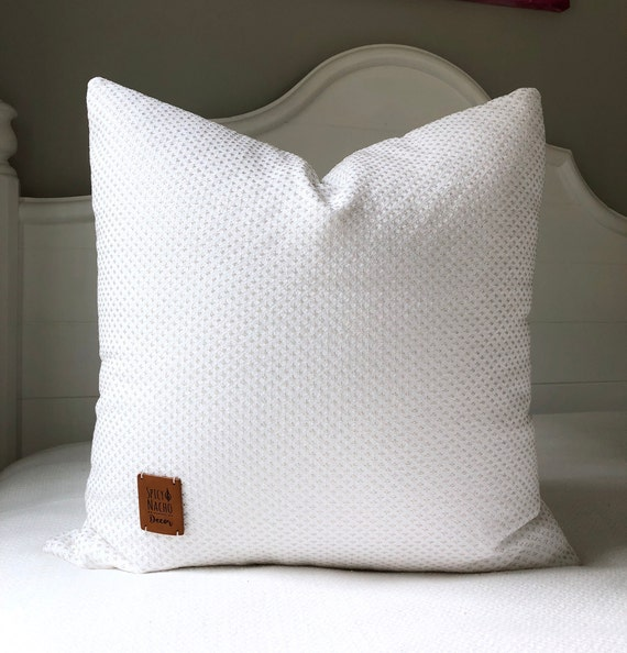 Throw Pillow Covers 20x20 Pillow Coversparkly Cream Etsy