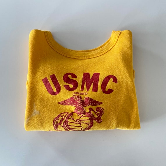 1960s/70s USMC Faded Crewneck Sweatshirt