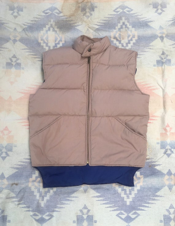 1980s William Barry Struggle Gear Puffer Vest