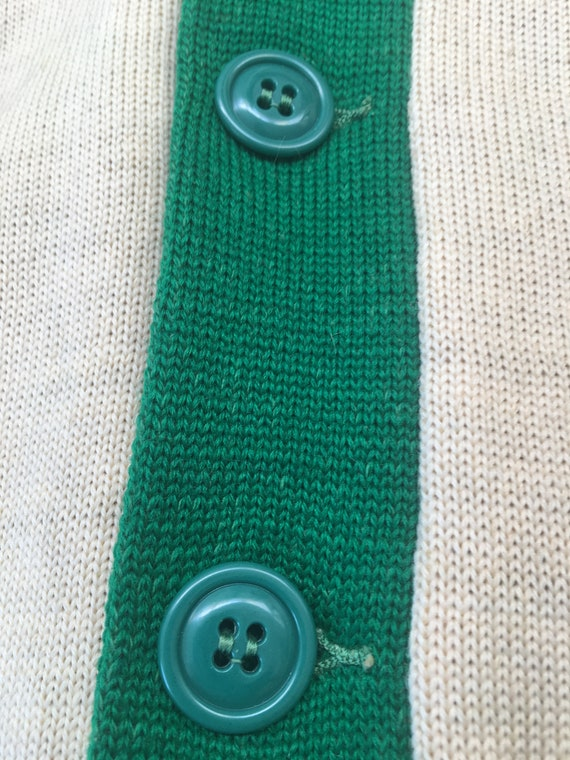 1950s Varsity Wool Sweater - image 3