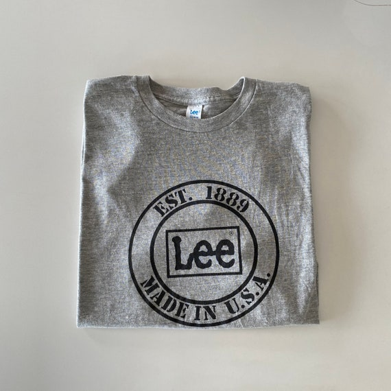 1980s Deadstock LEE Brand Tee