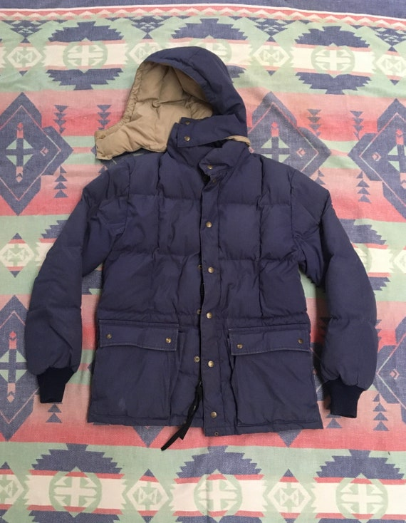 1980s Bauer Down Hooded Puffer Jacket
